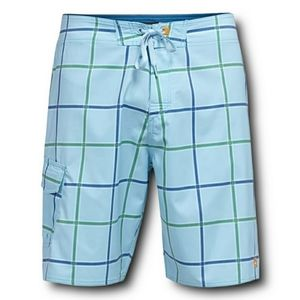 """Quiksilver Waterman Square Root 4 Board Shorts 34"""""""